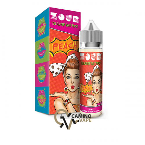 Zour E-Liquid Peach